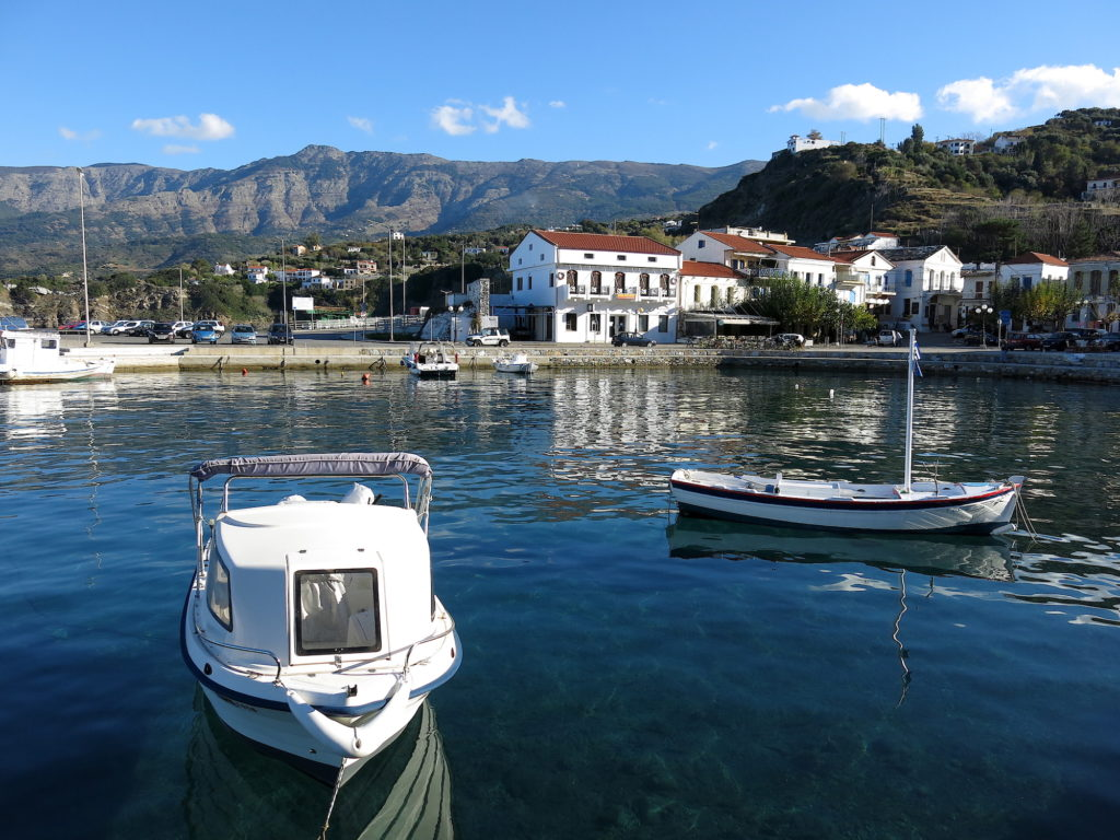 Evdilos Port
