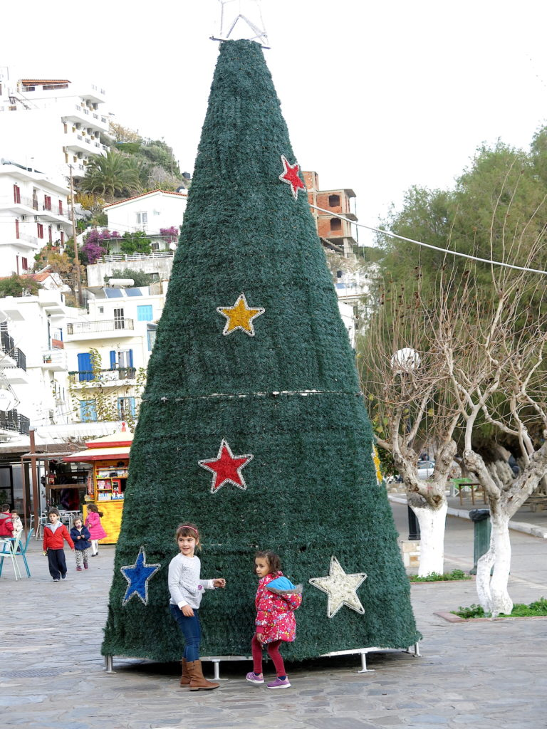 Agios Kirykos ChristmasTree